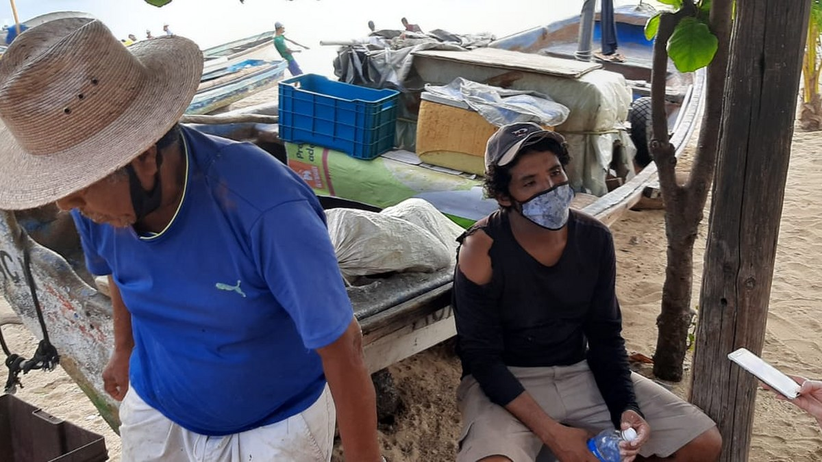 'Las congojas para mí no existen', ni por el covid, dice pescador de Acapulco 7