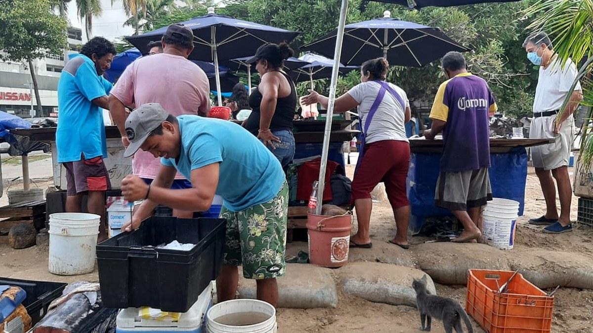 'Las congojas para mí no existen', ni por el covid, dice pescador de Acapulco 6