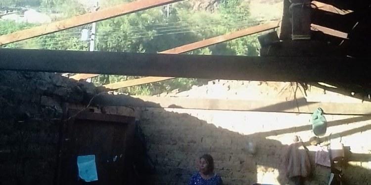 Familias afectadas por vientos fuertes en Guerrero denuncian falta de apoyos 1
