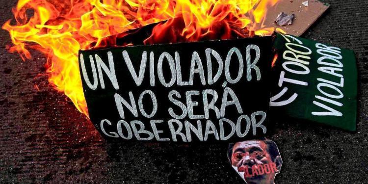 Amenazan a feministas que exigen justica para víctimas de caso Félix Salgado 1