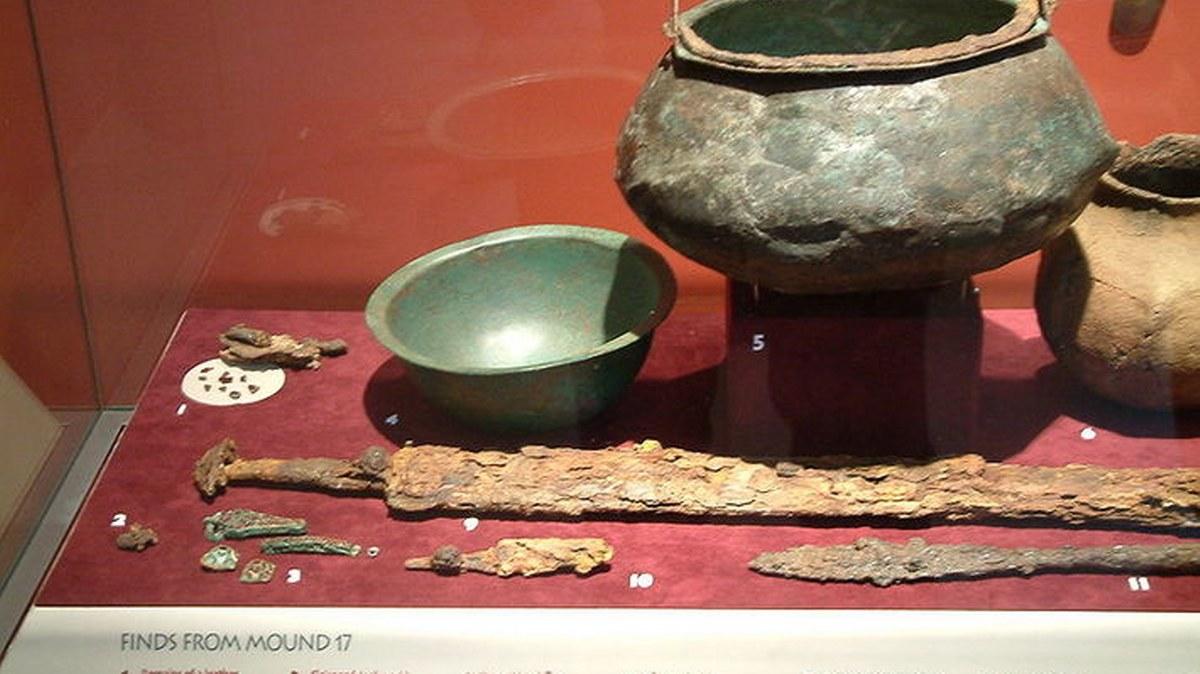El tesoro de Sutton Hoo, la tumba altomedieval más rica de Europa 2