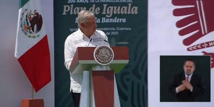 """""""Todavía no sabemos dónde están los normalistas de Ayotzinapa"""", reconoce AMLO en Iguala 1"""