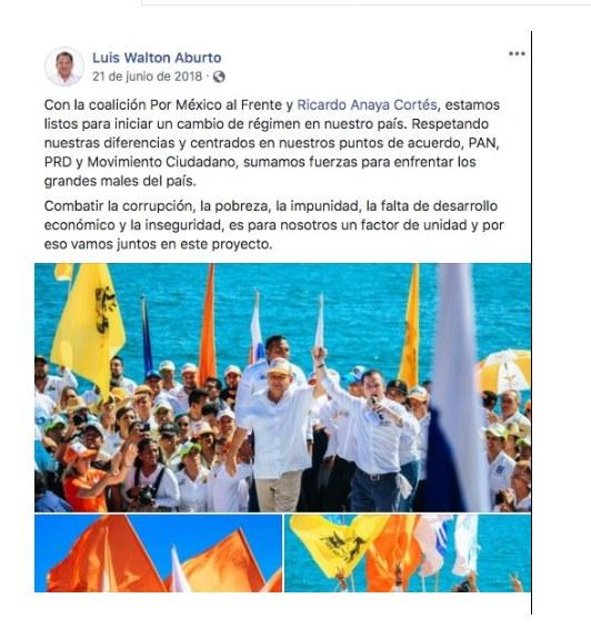 Luis Walton, el traidor y oportunista que ambiciona la candidatura de Félix Salgado 3