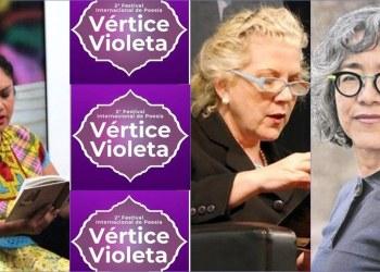 """""""Vértice Violeta"""", festival internacional de poesía por la inclusión y la equidad, concluye este domingo 9"""