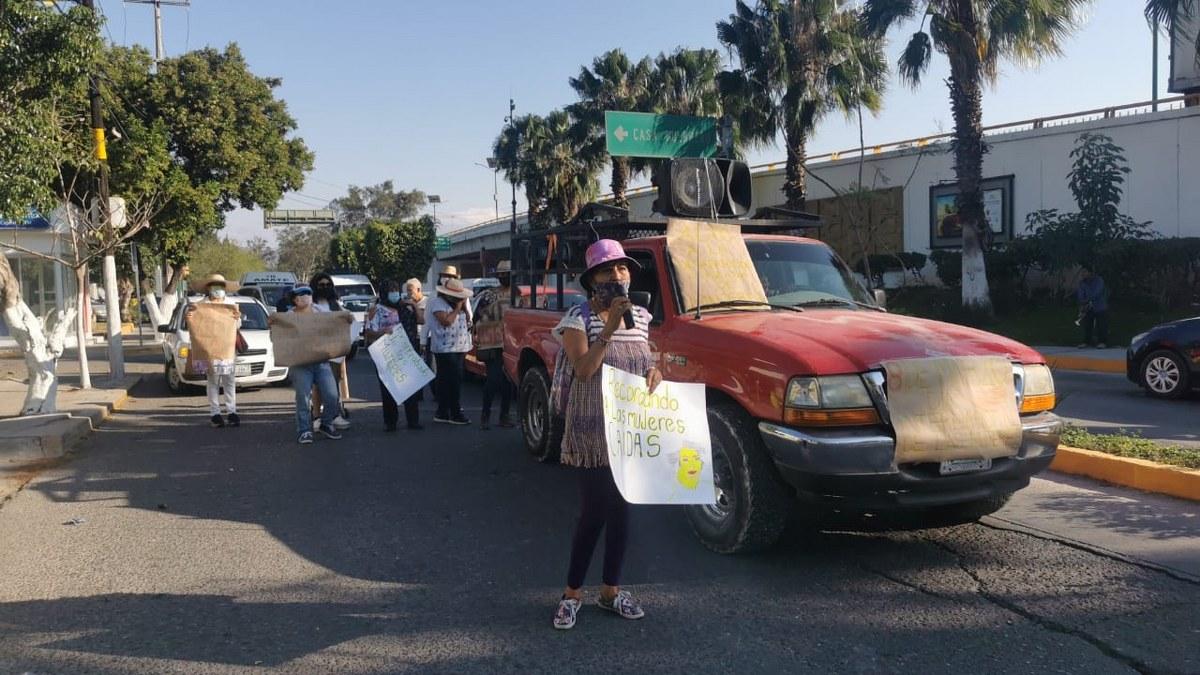 Marchan en Chilpancingo para recordar a las mujeres caídas por la violencia 2
