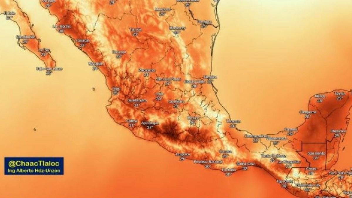 Prevén temperaturas superiores a los 40 grados en estos estados del país 1