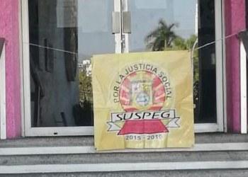 Trabajadores del SUSPEG vuelven a tomar oficinas de Finanzas 9
