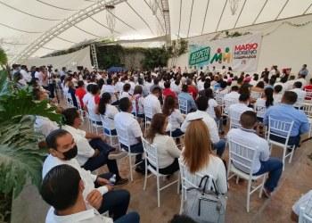 'Vamos a ganar en las urnas', asegura candidato de la alianza PRI-PRD, Mario Moreno 8
