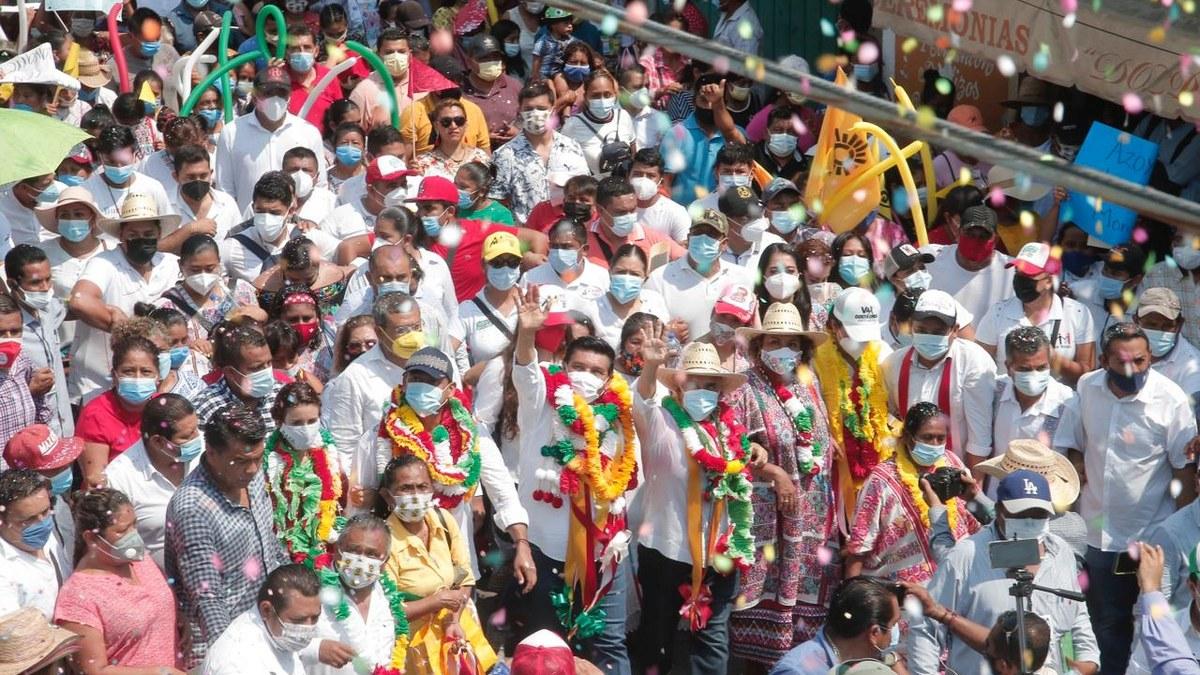 Mario Moreno será el gobernador de la salud; miles lo respaldan en Ometepec 4