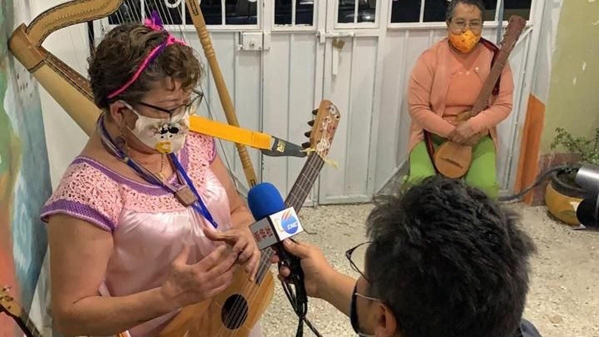 Gloria, de estar sometida a su casa, a tomar clases de jarana en Jóvenes Orquestas de la GAM 1