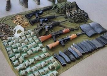 Soldados repelen agresión de sicarios y confiscan drogas y armas en Michoacán 7