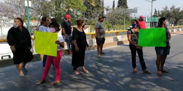 Se desatan bloqueos en Chilpancingo por falta de agua en colonias 1
