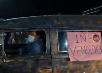 Félix Salgado sale en caravana desde Acapulco hacia el INE en CDMX 4