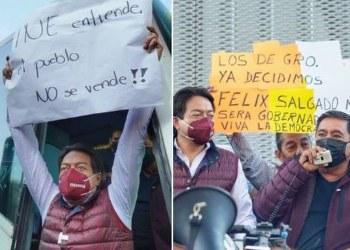 """PRD reconoce """"la valentía"""" del INE al no ceder ante amenazas de Félix y Morena 7"""