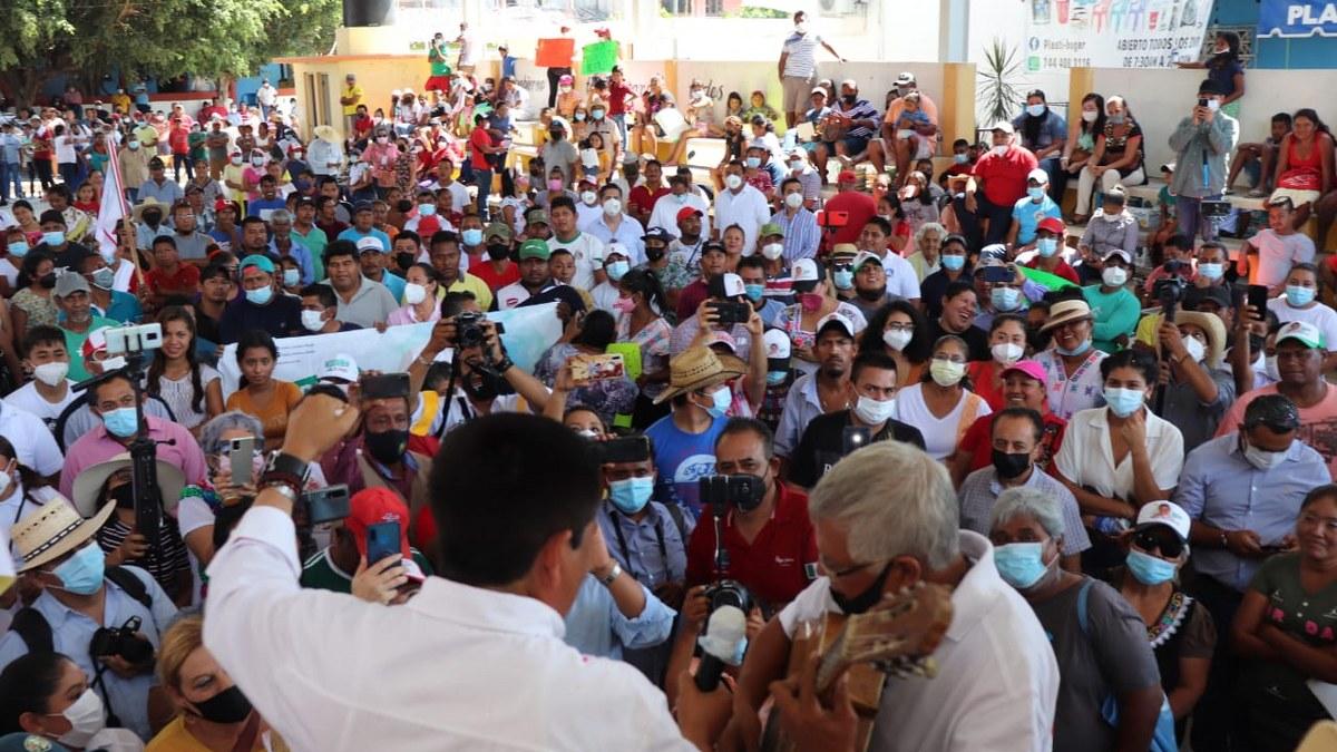 Alianza PRI-PRD se consolida en Montaña y Costa Chica; Mario Moreno toca corazones 1
