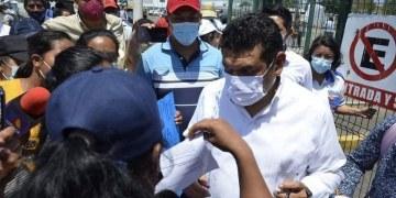 """""""May es un mentiroso"""", reclaman tabasqueños afectados por las inundaciones 10"""