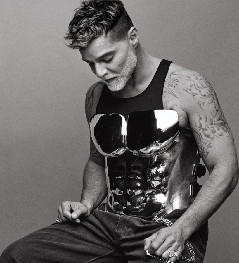 "Ricky Martin presume su ""abdomen de acero""   FOTO 1"
