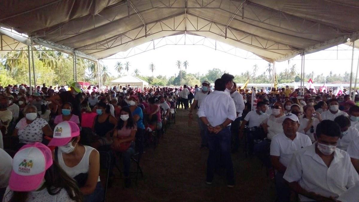 Ricardo Astudillo cierra con apoyo de morenistas y obradoristas en el distrito 7 de Acapulco 3