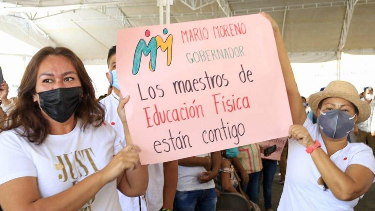 Mario Moreno recibe respaldo de sectores magisterial y de salud; el cambio en Guerrero ya comenzó 6