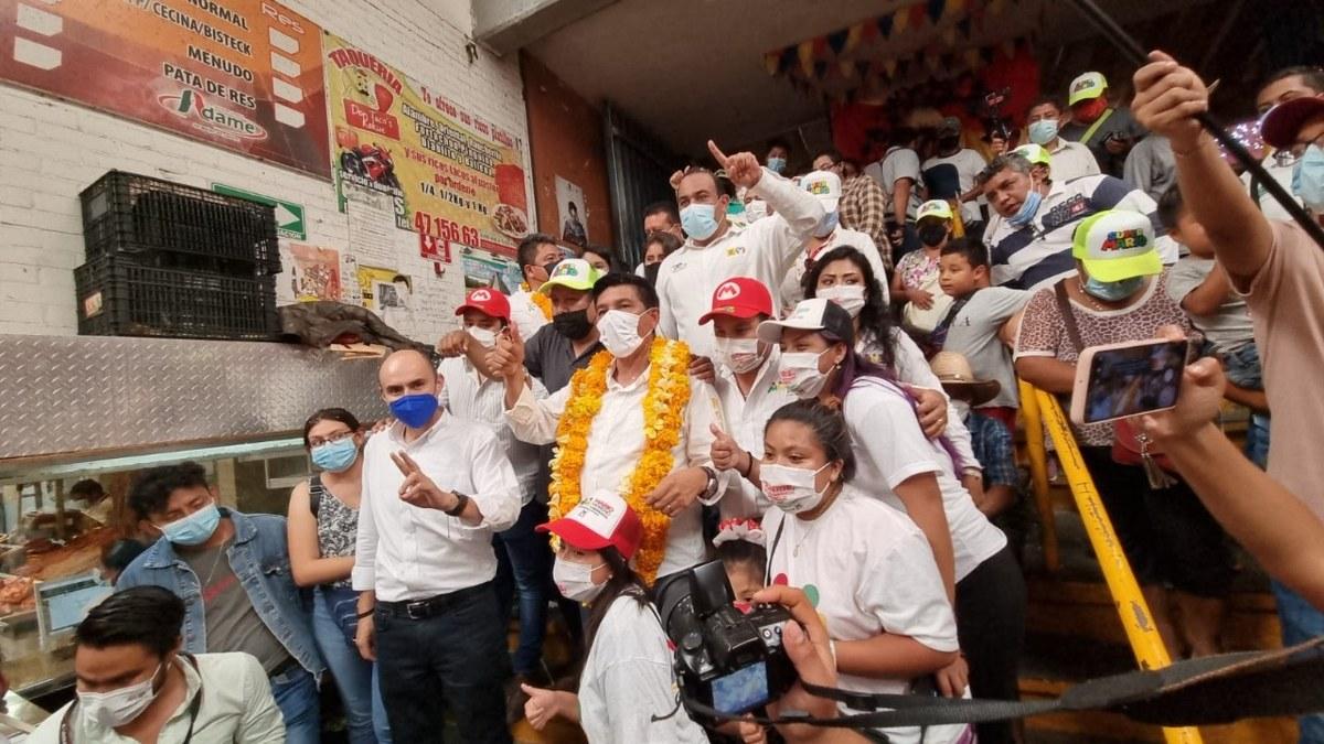 Mario Moreno recibe apoyo del comercio en Chilpancingo; habrá seguridad para todos, confirma 3