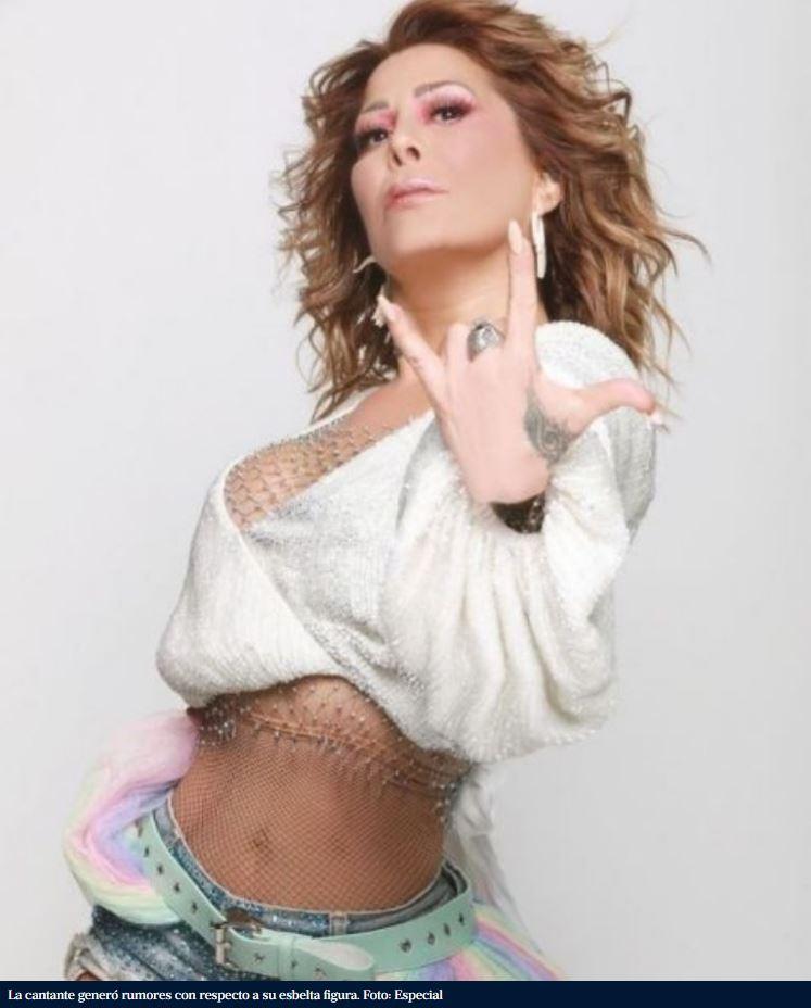 Alejandra Guzmán impacta con mini cintura | FOTO 1