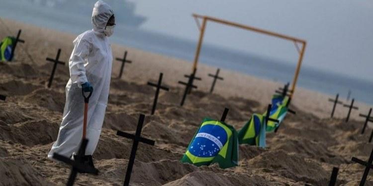 Brasil supera las 500 mil muertes; se acerca a los 18 millones de contagios 1