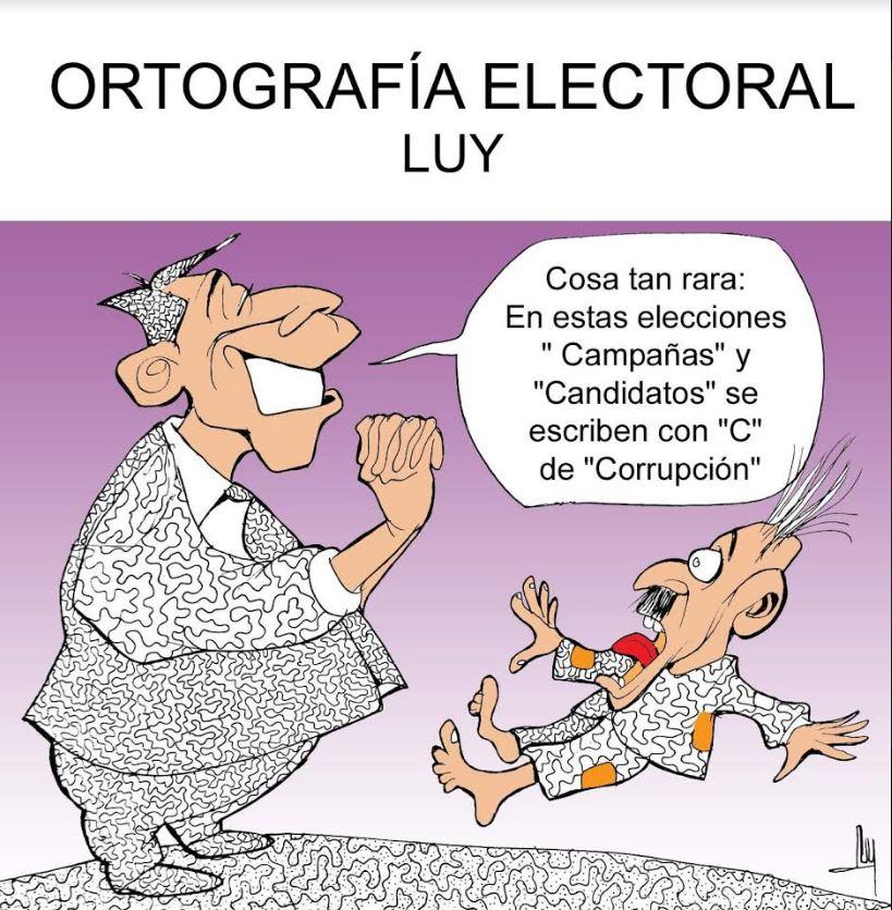 Ortografía electoral | Luy 2