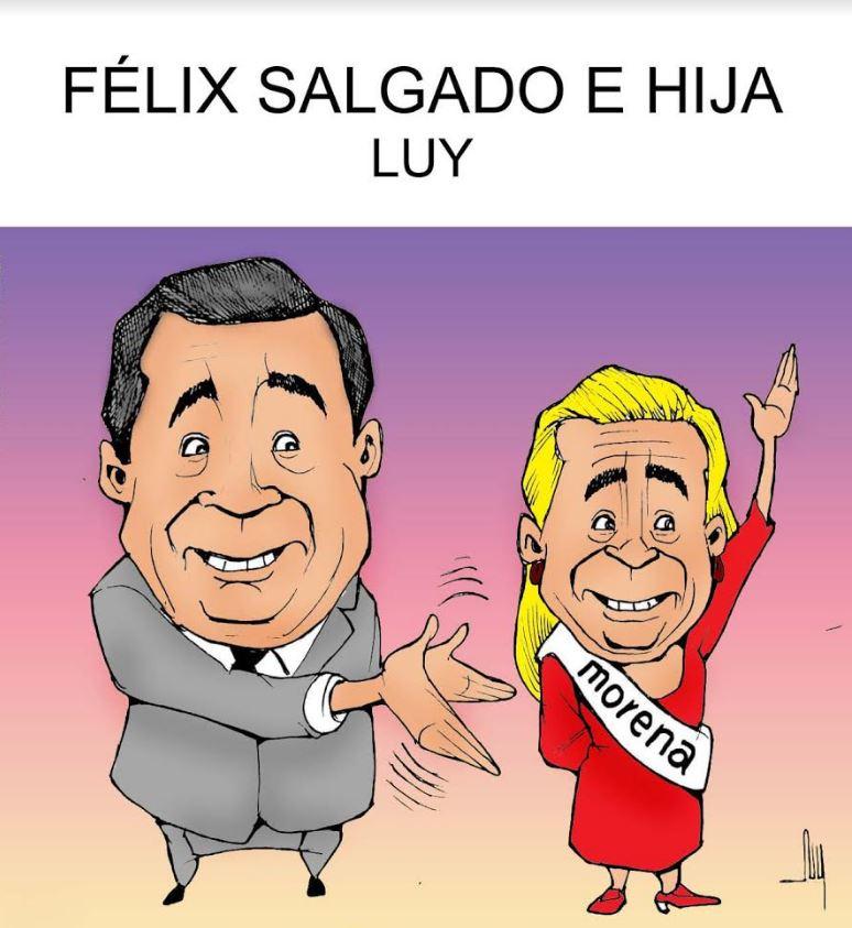 Félix Salgado e hija   Luy 2