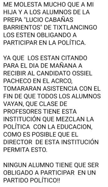 Candidato de Morena en Coyuca usa a escolares en sus mítines 3