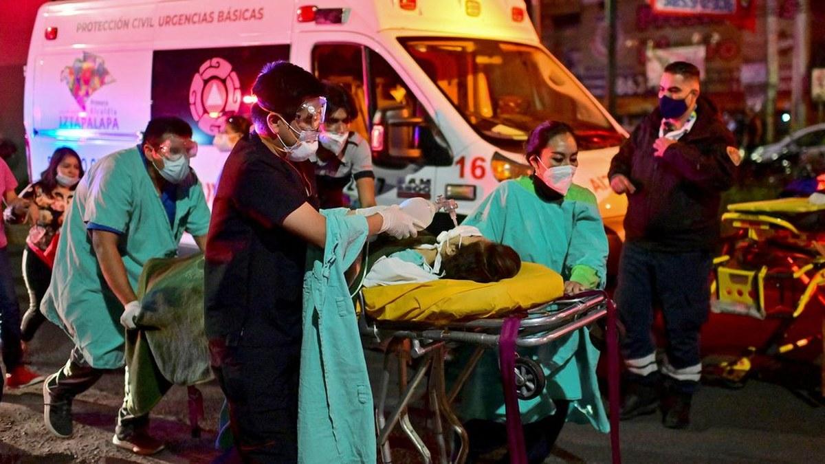 Las impactantes imágenes del accidente de la Línea 12 del Metro 3