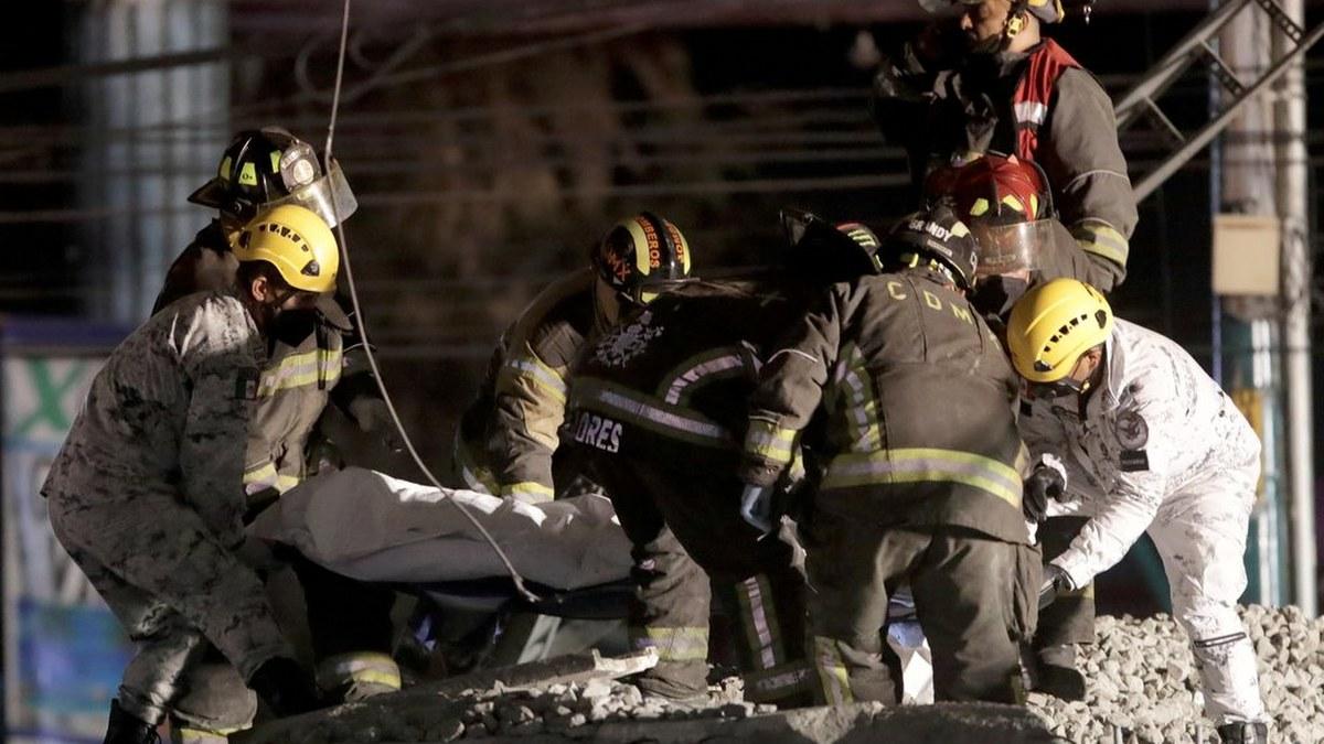 Las impactantes imágenes del accidente de la Línea 12 del Metro 6