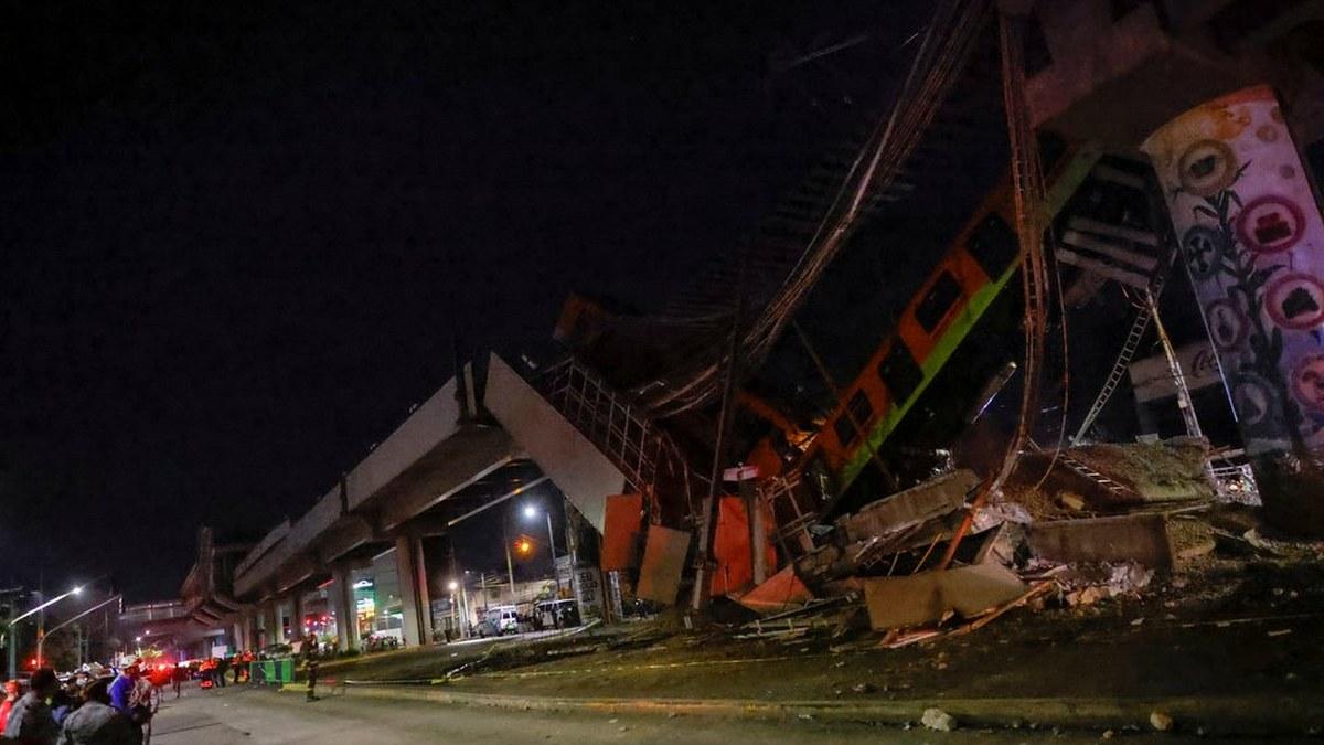 Las impactantes imágenes del accidente de la Línea 12 del Metro 7