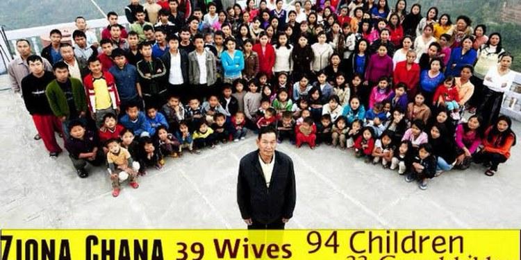 Tenía 38 esposas, 89 hijos y 36 nietos; muere el jefe de la familia más grande del mundo 1