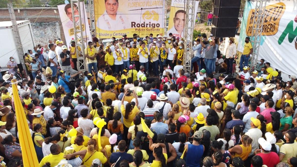 La alianza PRI-PRD avanza en la ruta de la victoria en Guerrero, afirma Mario Moreno 3