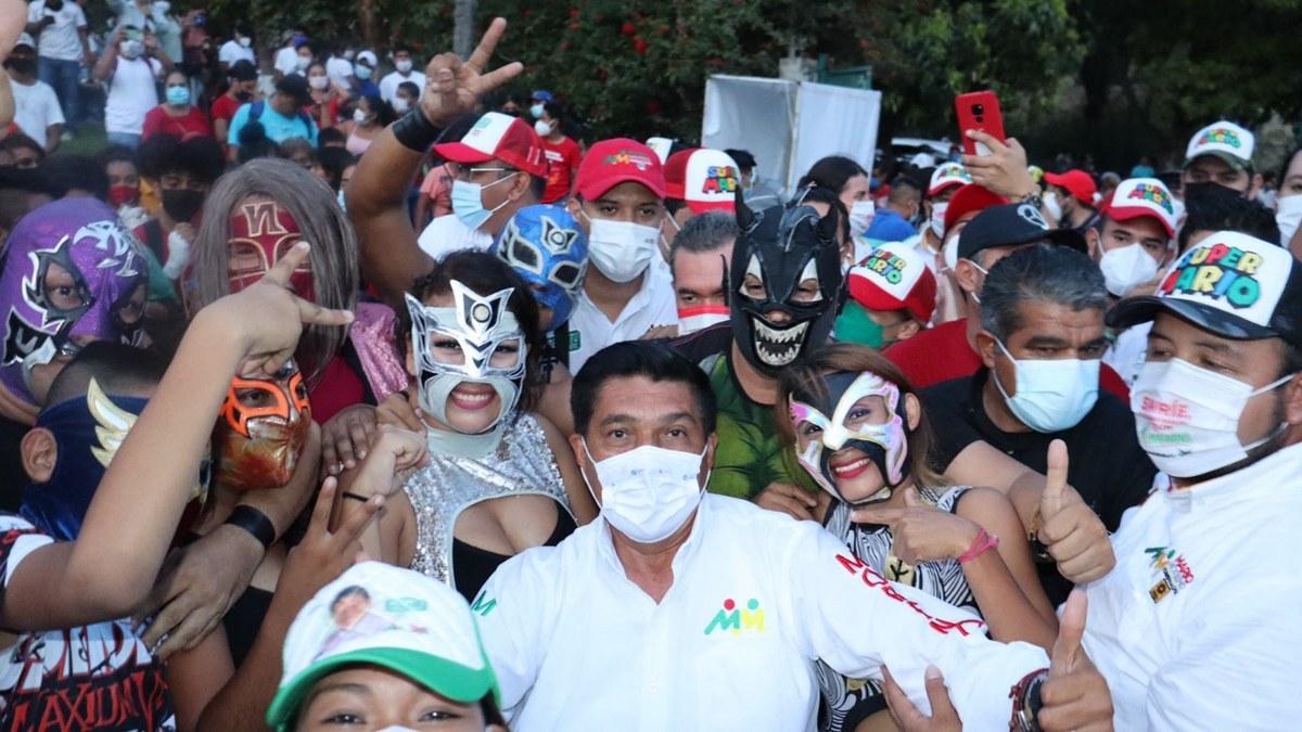 El 6 de junio hay una cita con la historia de Guerrero; Mario Moreno llama a los jóvenes a votar 5