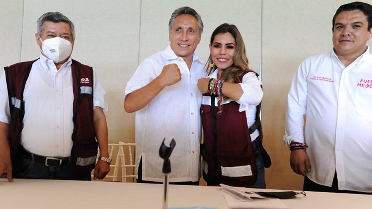 Manuel Negrete declina por hija de Félix Salgado en un salón semivacío de Acapulco 1