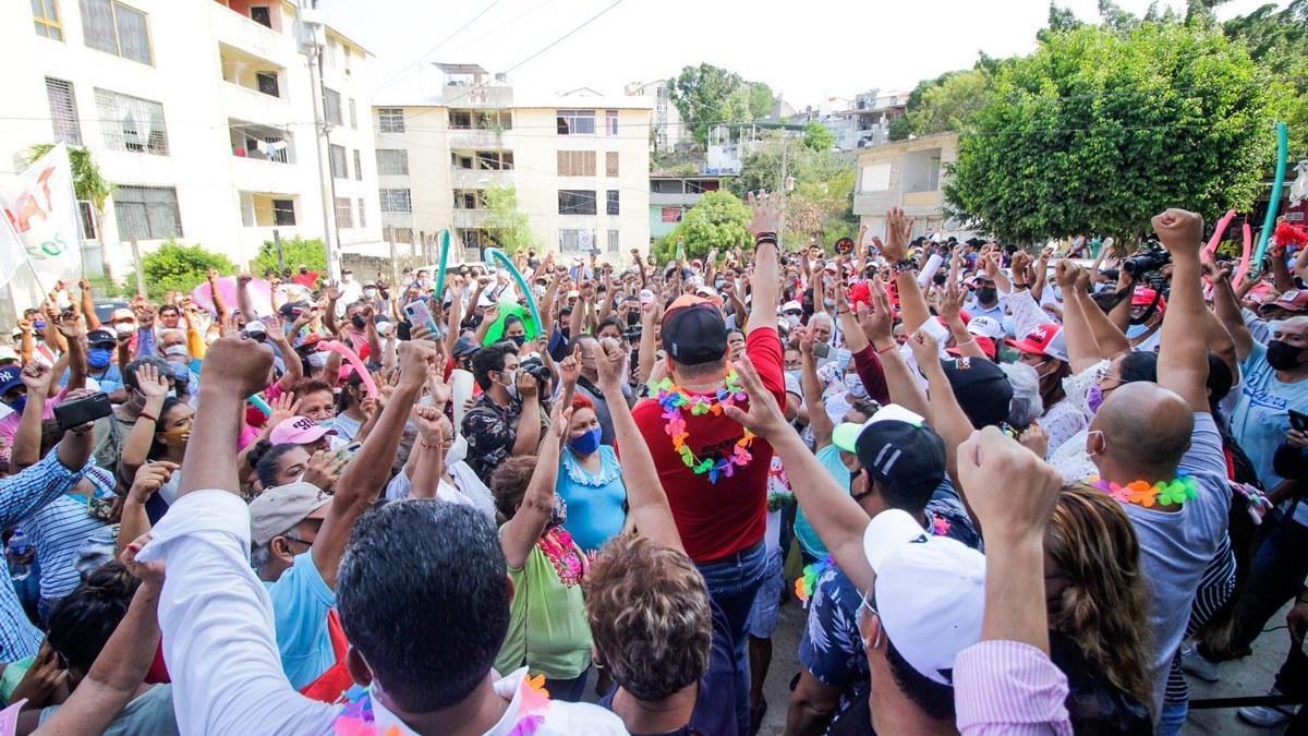 Acapulqueños retacarán las urnas por Ricardo Taja; aventaja en todos los 7 distritos 5