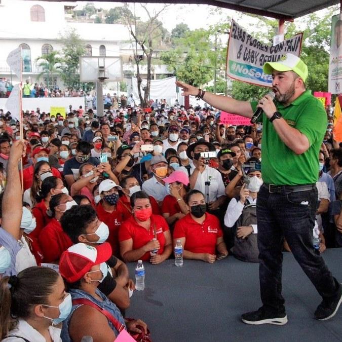 Ricardo Taja cierra campaña con llamado a votar por el cambio en Acapulco el 6 de junio 2
