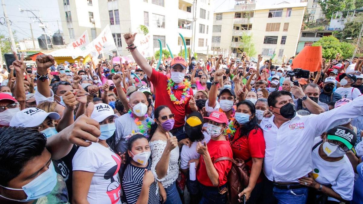 Acapulqueños retacarán las urnas por Ricardo Taja; aventaja en todos los 7 distritos 1