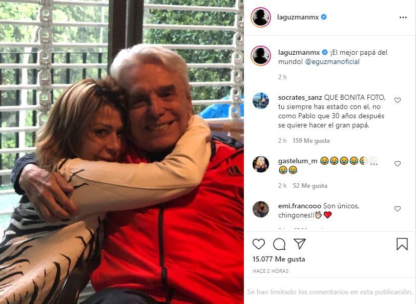 Alejandra felicita a Enrique en medio de la polémica con Frida Sofía 2