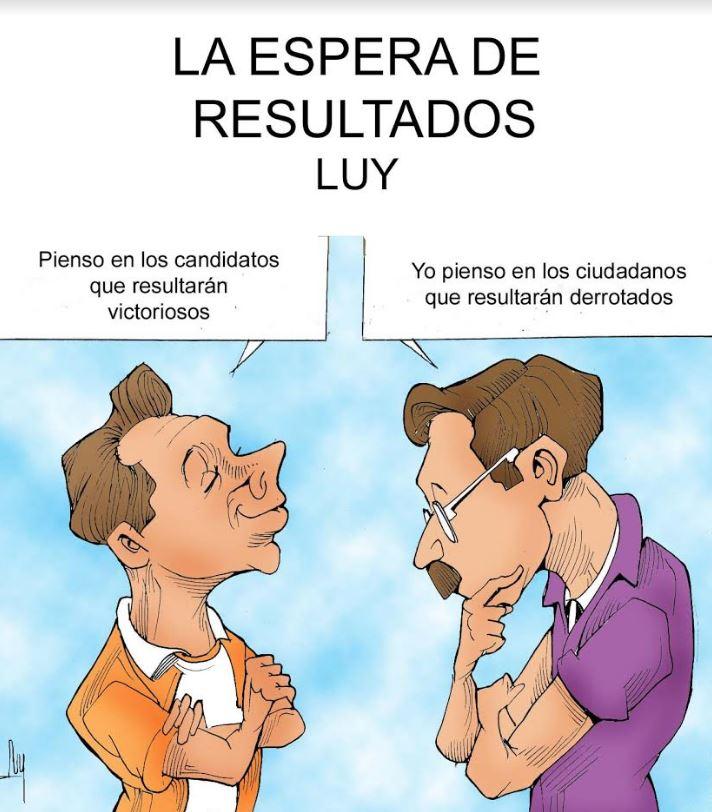 La espera de resultados   Luy 2