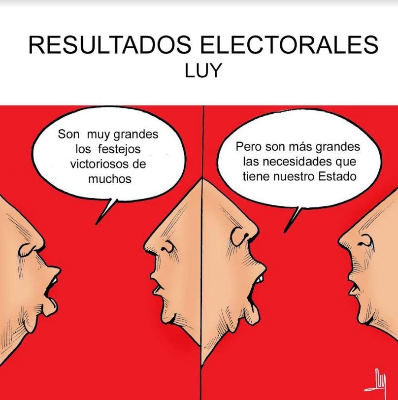 Resultados electorales | Luy 9