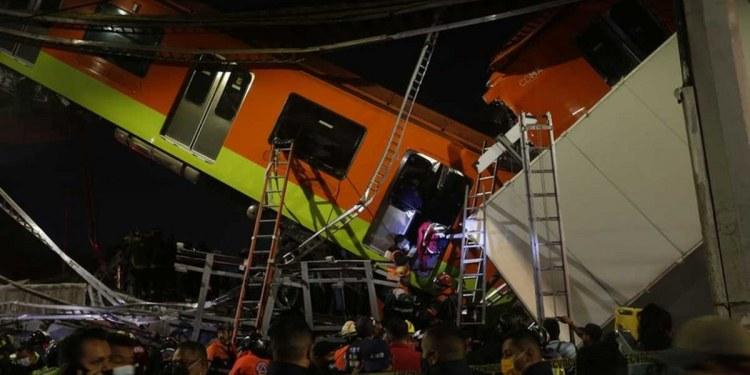 colapso del Metro