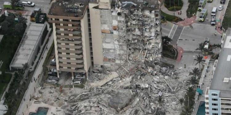 Miami: hay 51 personas desaparecidas tras derrumbe de edificio 1