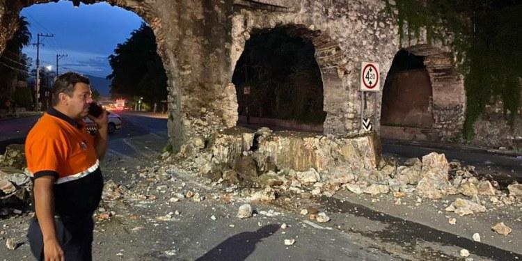 Elabora INAH dictamen sobre daños al acueducto de Morelos 1