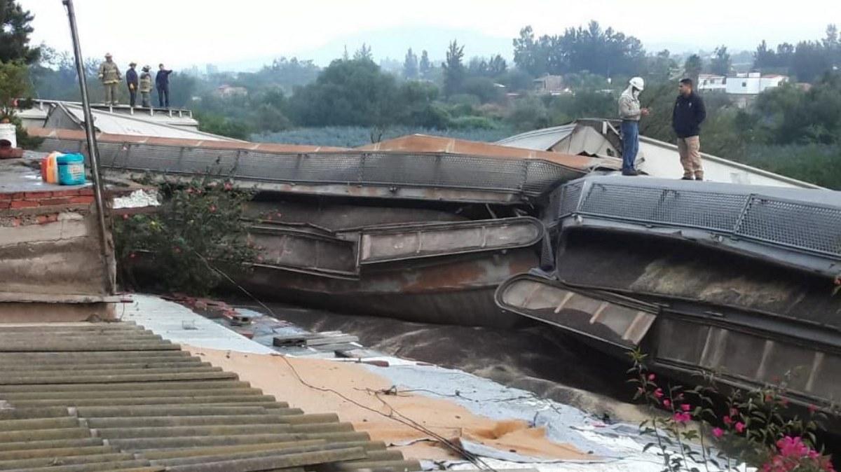 Descarrila tren en Tala, Jalisco; hay un muerto y tres lesionados 2
