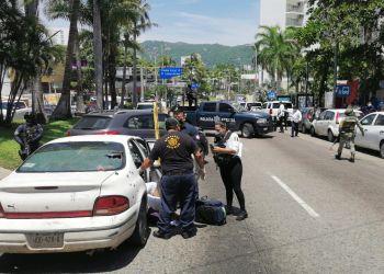 Ataque armado en plena Costera de Acapulco deja dos muertos y un herido 2