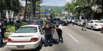 Ataque armado en plena Costera de Acapulco deja dos muertos y un herido 4