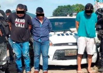 Capturan a 4 sicarios y extorsionadores en Zihuatanejo; les quitan armas y dinero 2