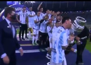Argentina es campeón de la Copa América, derrota a Brasil en Maracaná 9